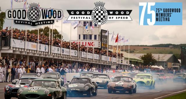 Le auto d'epoca di Alfa Romeo, Abarth, Lancia e Fiat, insieme con le ultime novità di FCA star al Goodwood Festival of Speed 2017