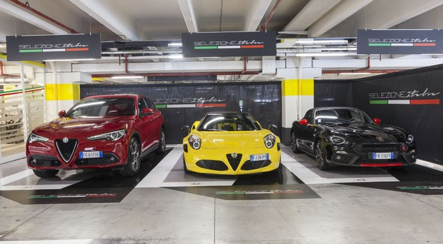 Alfa Romeo 4C insieme ad Abarth 124 spider è stata inserita nella cosiddetta 'Selezione Italia' da Hertz, celebre società di autonoleggio