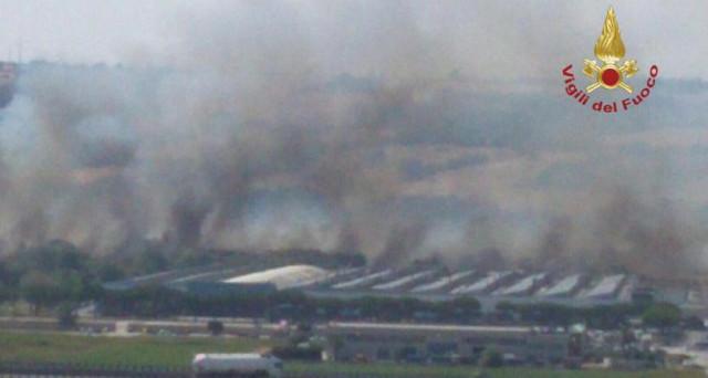 Ieri, intorno alle 14 un vasto incendio si è verificato all'interno dello stabilimento di Fiat Chrysler Termoli, per fortuna senza creare gravi problemi.