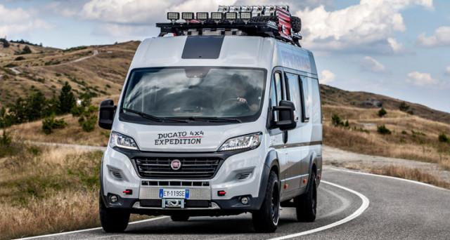 Fiat Ducato 4X4 sarà protagonista al Caravan Auto Show di Dusseldorf che comincia domani, il veicolo di Fiat Professional verrà anche premiato.
