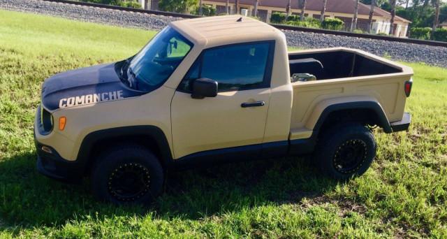 Jeep Renegade Pick Up
