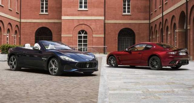 Maserati GranTurismo e GranCabrio 2018