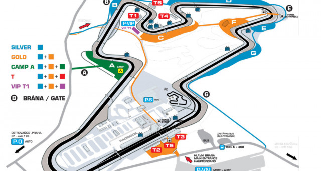 MotoGp Repubblica Ceca dal 4 al 6 agosto 2017 riparte il motomondiale, Valentino Rossi cercherà di ripetere le ultime ottime prestazioni