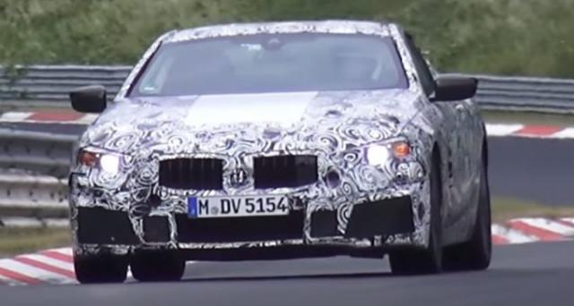 Nuova Bmw Serie 8: nuovi video dal Nurburgring apparsi su Youtube nei giorni scorsi fanno sentire l'impressionante rombo del motore V8.