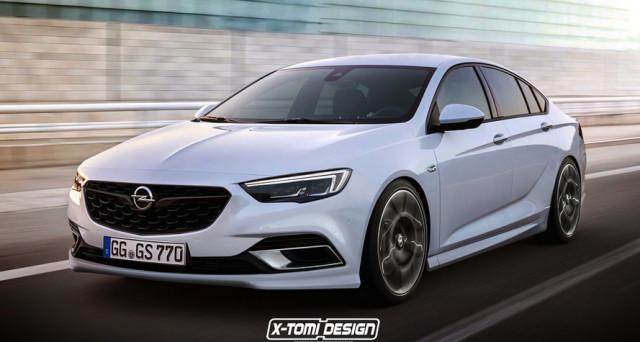 Nuova Opel Insignia OPC