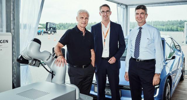 Volkswagen punta alla realizzazione di una nuova tecnologia con la quale le sue auto elettriche in futuro si ricaricheranno da sole