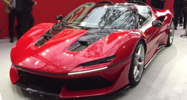 Ferrari J50: la vettura nata per festeggiare i 50 anni di Maranello in Giappone premiata con il prestigioso riconoscimento Red Dot.