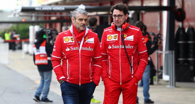 Formula 1: il team principal di Ferrari, Mattia Binotto, parla della sfida tra il cavallino rampante e Mercedes che si deciderà  probabilmente all'ultimo GP.