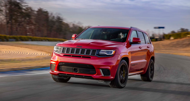 Jeep Grand Cherokee Trackhawk: il veicolo è stato mostrato per la prima volta in Europa al Salone dell'auto di Ginevra 2018.