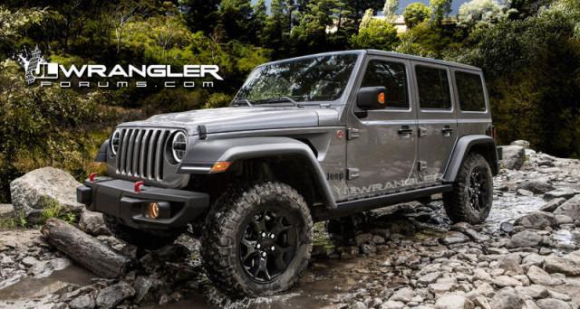 Jeep Wrangler 2018 Jl >> Jeep Wrangler 2018: trapelano nuovi dettagli sul fuoristrada - Motori e Auto - Investireoggi.it