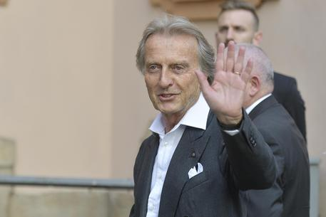 Luca Cordero di Montezemolo arriva alla sede dell'Ispi per partecipare alla cena con Barak Obama e Matteo Renzi. Milano, 8 maggio 2017. ANSA/FLAVIO LO SCALZO