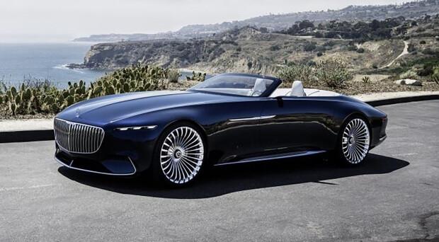 Mercedes: ecco la nuova concept mostrata a Pebble Beach negli Stati Uniti che mostra una futura cabriolet a due posti totalmente elettrica
