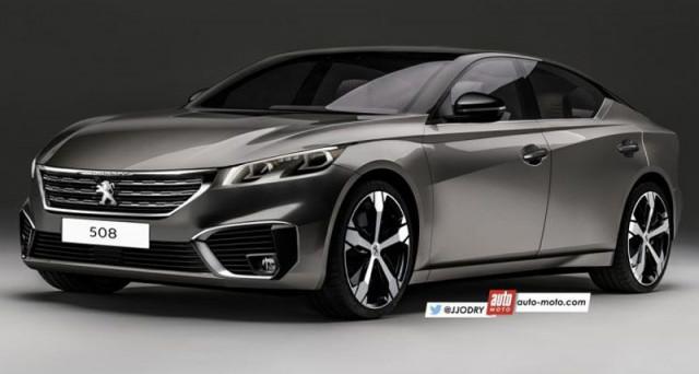 Nuova Peugeot 508: ecco un rendering apparso sul web che prova ad ipotizzare quello che potrebbe essere il suo aspetto definitivo.