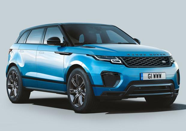 Range Rover Evoque: nel 2019 verrà allungata di 2 cm ...