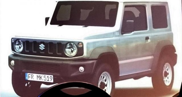 Suzuki Jimny: la nuova generazione del famoso modello del brand giapponese dovrebbe esordire in ottobre al Salone di Tokyo.