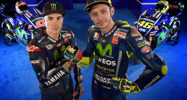 Valentino Rossi e Maverick Vinales