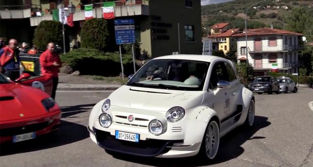Fiat 500 Con Motore Alfa Romeo 4c E Trazione Posteriore Ecco La