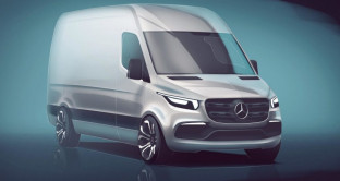 Nuovo Mercedes Sprinter 2018