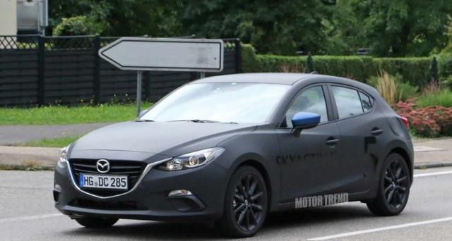 Nuova Mazda 3 Le Foto Spia Della Versione Che Uscira Nel 2019