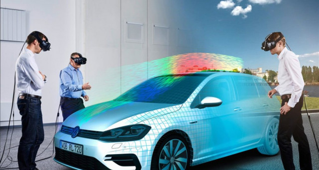 Volkswagen Golf concpet by Virtual Engineering Lab