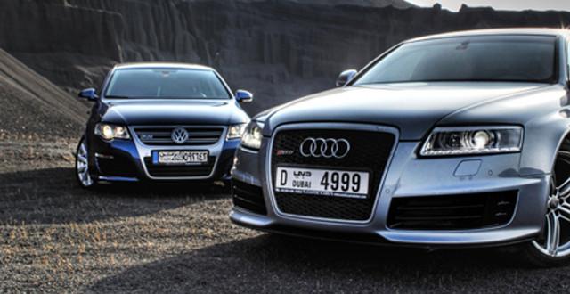 Volkswagen e Audi