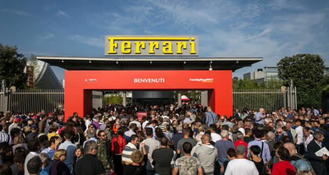 Ferrari: grande successo di pubblico per il Family Day organizzato ieri dalla casa automobilistica del cavallino rampante.