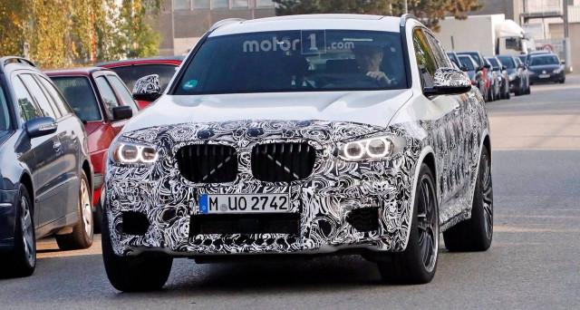 Bmw X4 M 2019: nuove foto spia per la versione più sportiva e prestante del nuovo suv della casa automobilistica bavarese