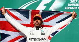 Formula 1 USA Lewis Hamilton