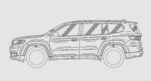 Jeep Yuntu: la concept car mostrata al Shanghai Auto Show 2017 potrebbe ispirare un nuovo Suv a 3 file di posti per gli USA.