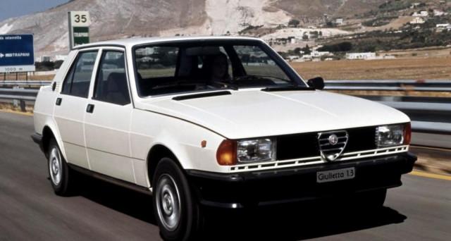 Nuova Alfa Romeo Giulietta: il modello 116 entrò in produzione nel novembre del 1977 e compie quindi i suoi primi 40 anni