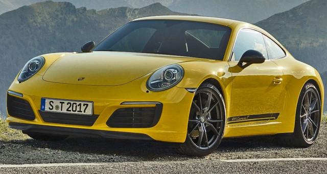Porsche 911 Carrera T: arriverà nelle concessionarie italiane a partire dal mese di gennaio 2018 e i prezzi partiranno da 111.586,00 Euro.