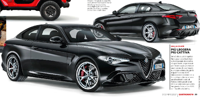 Alfa Romeo Giulia 2017 >> Alfa Romeo Giulia Coupè: le ultime novità sull'auto che potrebbe arrivare nel 2019 - Motori e ...