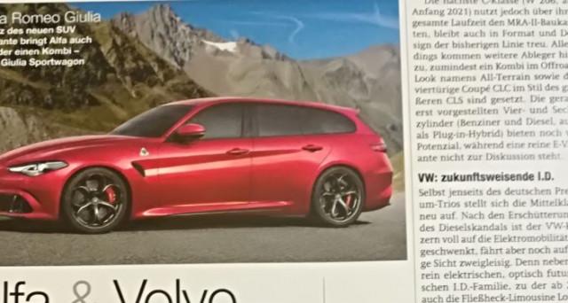 Alfa Romeo Giulia Sport Wagon