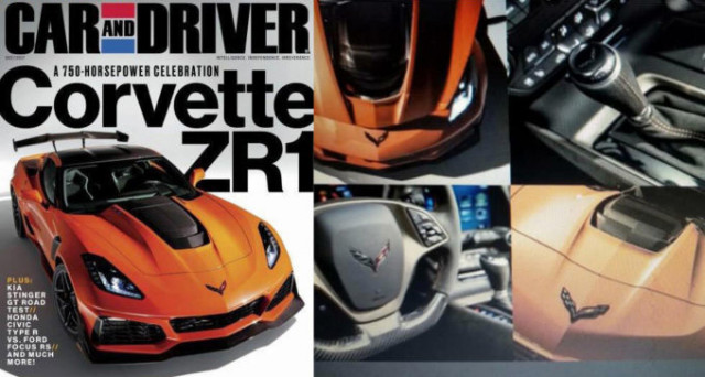 Chevrolet Corvette ZR1 2018