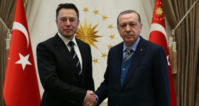 Tesla: Elon Musk numero uno della casa americana di auto elettriche ha incontrato in Turchia il Presidente Erdogan, accordo in vista?