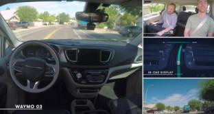 Waymo annuncia che sono partiti i primi test di auto a guida autonoma senza
