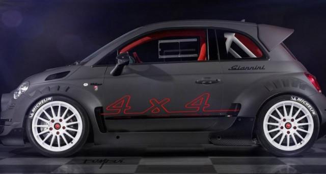Giannini 350 GP4 è l'ultima creazione del famoso tuner italiano, una Fiat 500 con motore di Alfa Romeo e prezzo di una Ferrari