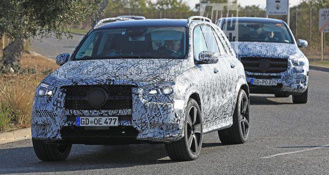 Nuove Mercedes GLE E GLS