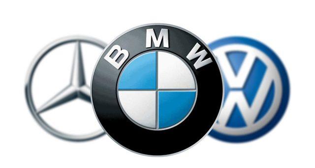Volkswagen, Bmw e Mercedes