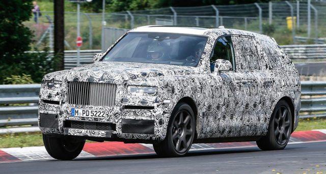 Rolls-Royce Cullinan: il futuro suv della celebre casa automobilistica britannica è stato immortalato in pista al Nurburgring.