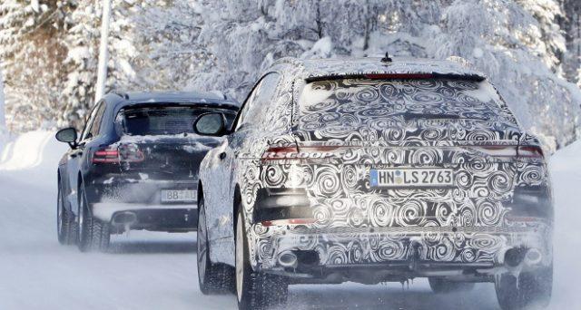Audi SQ8 e Porsche Macan