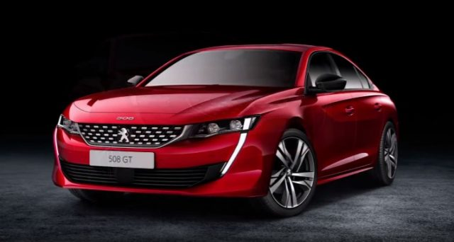 Nuova Peugeot 508 riceve il premio diEurostar Design da parte di Automotive News Europe.