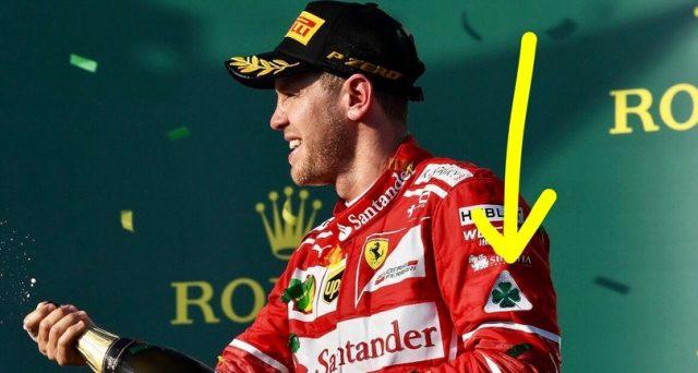 Sebastian Vettel Quadrifoglio