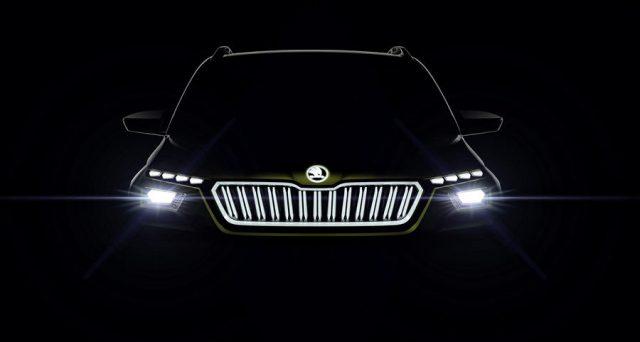 Skoda Vision X: la nuova concept car sarà mostrata da Skoda al salone di Ginevra, il modello di produzione in arrivo nel 2019.