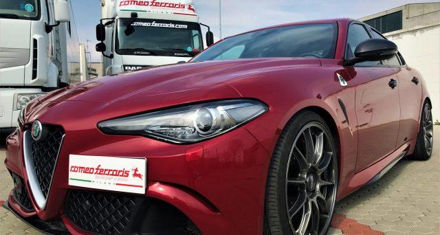 Alfa Romeo Giulia Quadrifoglio Romeo Ferraris: ecco l'esclusivo tuning della versione top di gamma della berlina di segmento D del Biscione.