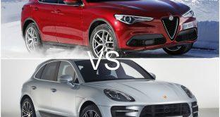 Alfa Romeo Stelvio e Porsche Macan Turbo