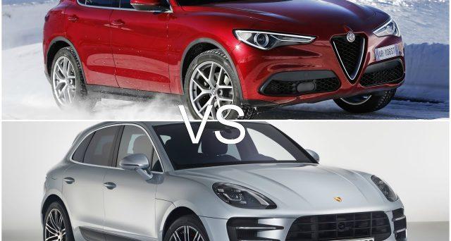Alfa Romeo Stelvio Quadrifoglio: il Suv del Biscione è stato messo a confronto in un video con Porsche Macan Turbo.