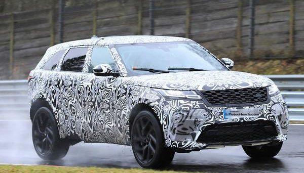 Range Rover Velar SVR 2018