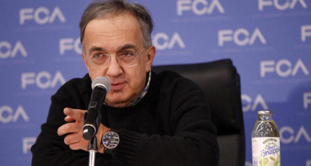 Sergio Marchionne | CEO of Fiat Chrysler Automobiles