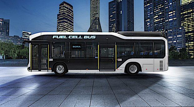 Toyota Bus Fuel Cell